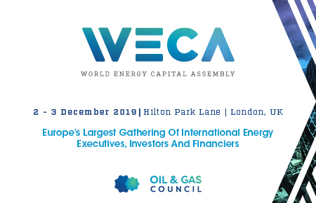 Oil and Gas Council, World Energy Capital Assembly, London 2019