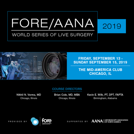 2019 FORE/AANA World Series of Live Surgery