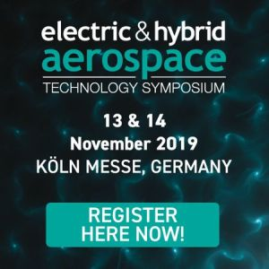 Electric & Hybrid Aerospace Technology Symposium in Koln, Germany, Nov 2019