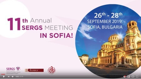 SERGS 2019 Sofia: 11th Annual Meeting on Robotic Gynaecological Surgery
