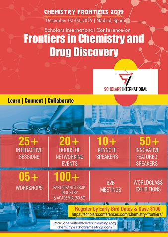 Scholars International Conference on Frontiers in Chemistry and Drug Discovery