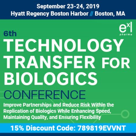 6th Technology Transfer for Biologics Conference