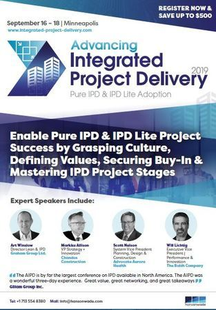 Advancing Integrated Project Delivery 2019
