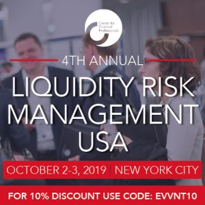 CeFPro 4th Annual Liquidity Risk Management USA | October 2-3 | NYC