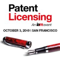 Patent Licensing, 3 October 2019, San Francisco