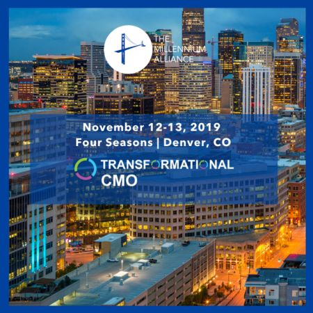 Transformational CMO Denver, CO - November 2019
