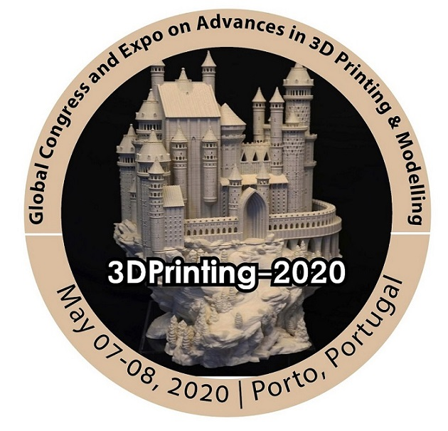 Global Congress and Expo on Advances in 3D Printing & Modelling