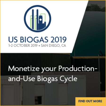 US Biogas 2019 - San Diego, October 1-2