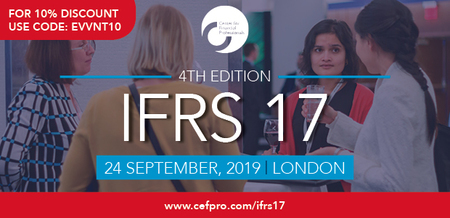 CeFPro 4th Edition IFRS 17 Forum - September 24, 2019 | London