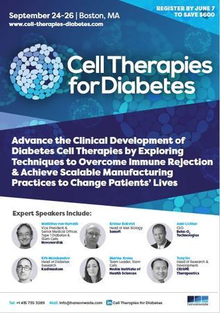 Cell Therapies for Diabetes