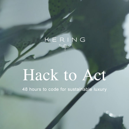 Hack to Act by Kering