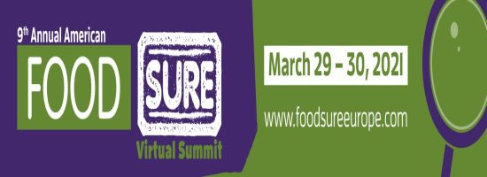 American Food Sure Virtual Summit, March 29th - 30th 2021