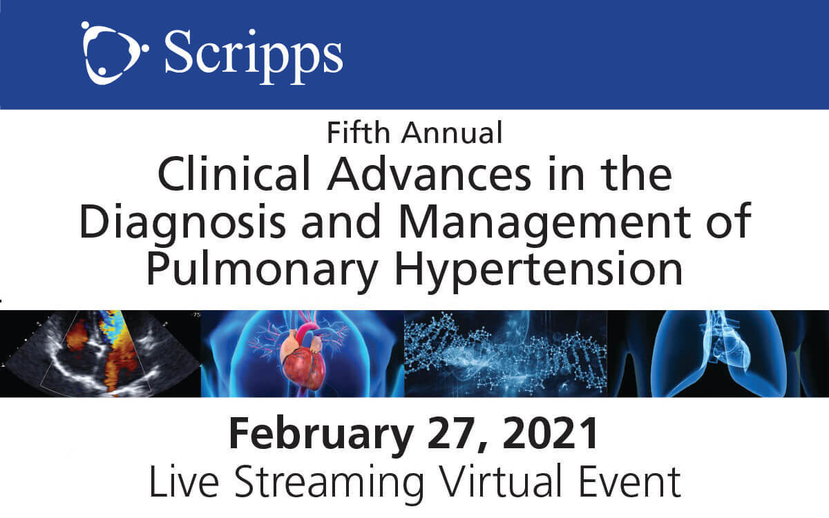 Scripps 2021 Pulmonary Hypertension CME Conference