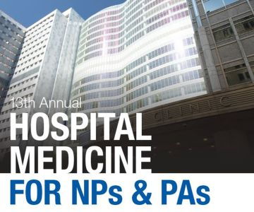13th Annual Hospital Medicine for NPs and PAs 2021 - LIVESTREAM