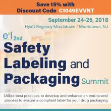 2nd Safety Labeling and Packaging Summit