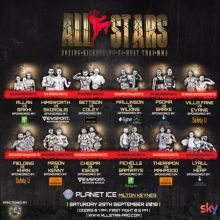 All Star Fight Night at Planet Ice in Milton Keynes