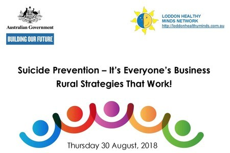Suicide Prevention Conference - strategies that work