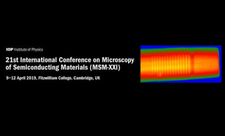 Int. Conf. on Microscopy of Semiconducting Materials