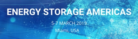 Energy Storage Americas in Miami, March 2019