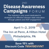 2nd Disease Awareness Campaigns Forum