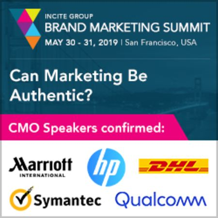 The Brand Marketing Summit West 2019, San Francisco, USA