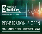 """The Business of Health Care: Technology and People: U.S. and Beyond,"" March 29"