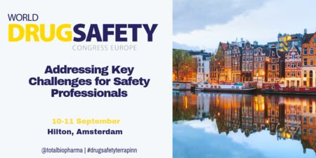World Drug Safety Congress Europe 2019 - 10 and 11 September - Amsterdam