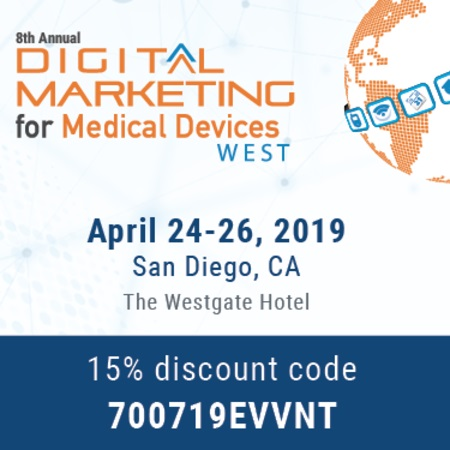 8th Digital Marketing for Medical Devices West