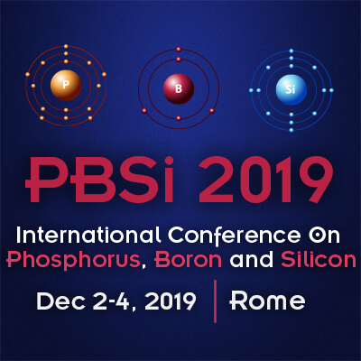 International Conference On Phosphorus, Boron and Silicon – PBSi 2019