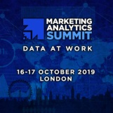 Marketing Analytics Summit London 2019