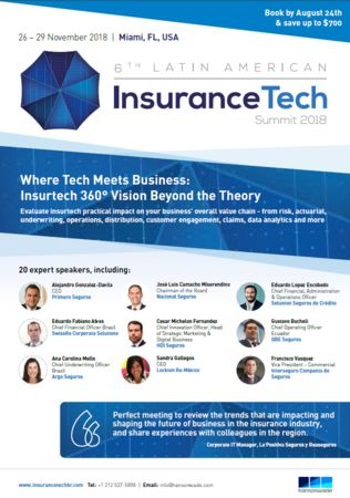 6th Latin American InsuranceTech Summit 2018