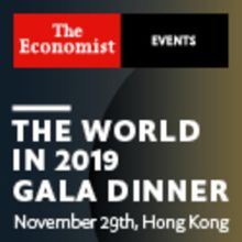 The World in 2019 Gala Dinner, November 29th, Hong Kong