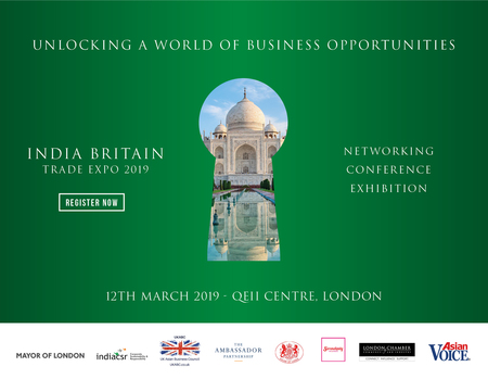 India Britain Trade Expo March 2019, QEII Centre London