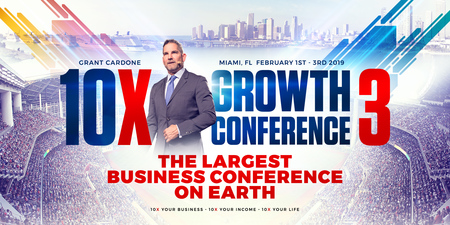 10X Growth Conference Miami 2019 - The Largest Business