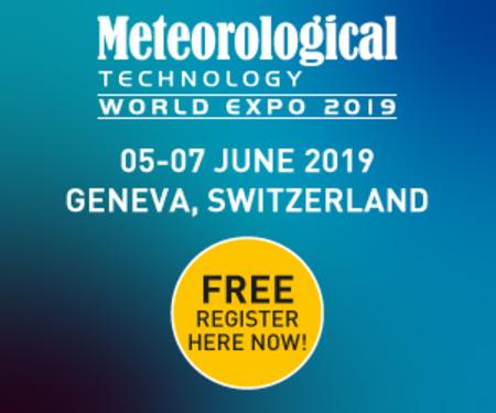 Meteorological Technology World Expo 2019 , Geneva, Switzerland