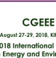 Int. Conf. on Green Energy and Environment Engineering