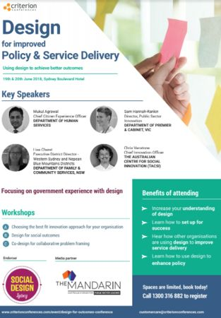 Design for Improved Policy And Service Delivery