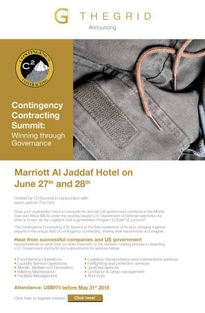 The Contingency Contracting (C²) Summit
