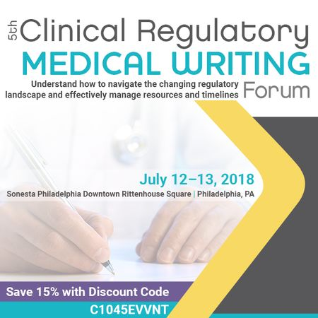 5th Clinical Regulatory Medical Writing Forum