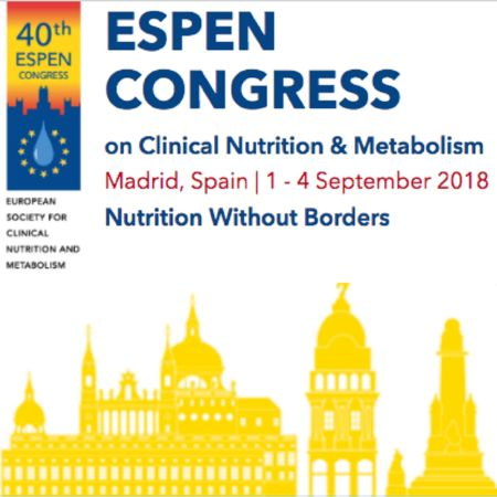 The 40th ESPEN Congress on Clinical Nutrition and Metabolism