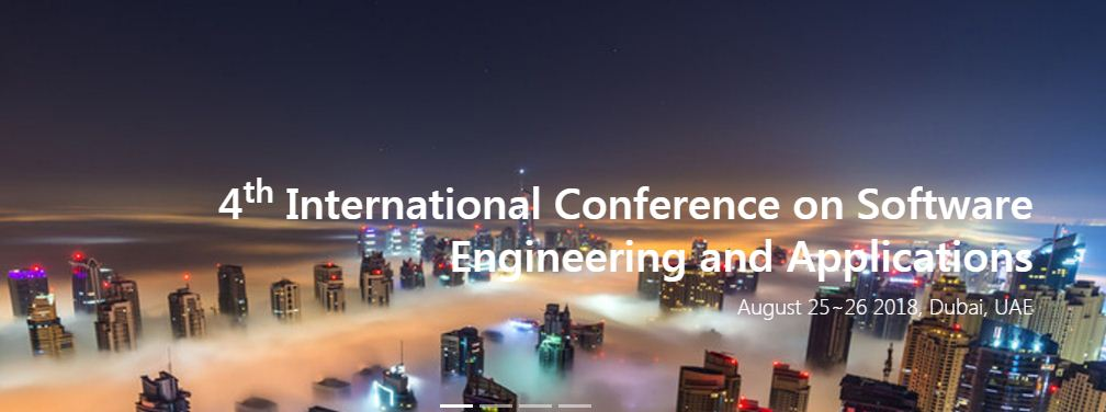 4th Int. Conf. on Software Engineering and Applications