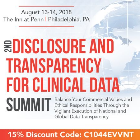2nd Disclosure and Transparency for Clinical Data Summit